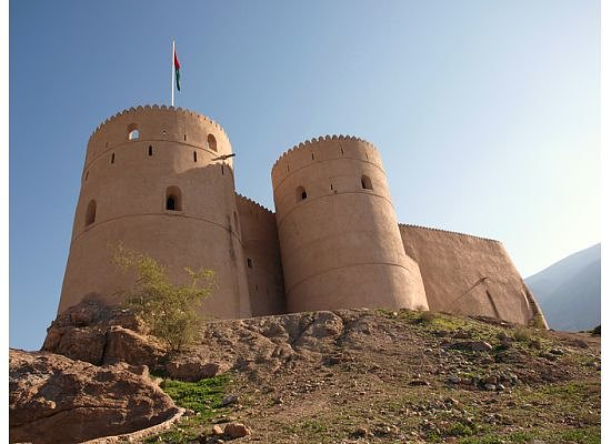 Muscat Governorate, Oman: Fort Nakhl