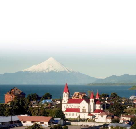 Hotel Patagonico: Vista Ciudad Puerto Varas
