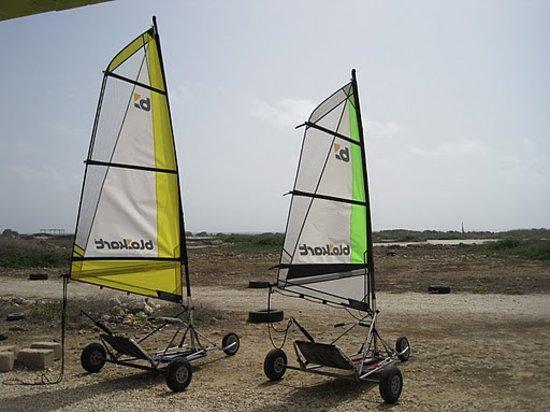 Landsailing Bonaire : The Blokarts