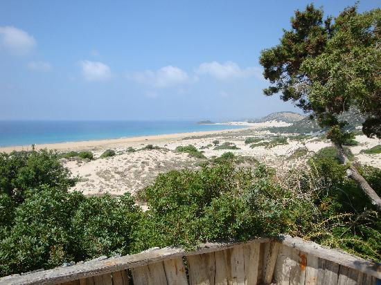 Big Sand Beach Restaurant & Bungalows: view from bungalow number 6