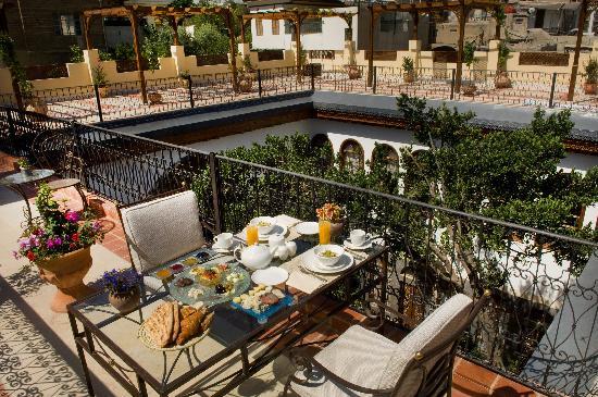 Beit Zafran Hotel de Charme: Our Terrace