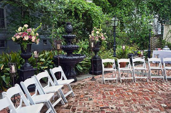 Degas House Wedding Ceremony