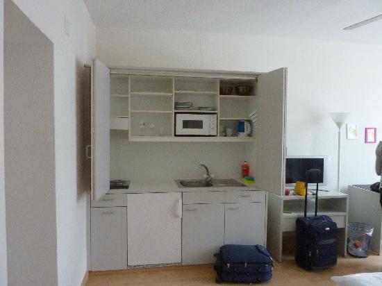Seestrasse Apartments Drei Konige: cocina
