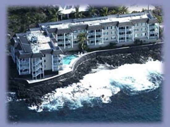 ‪‪Hale Kona Kai Condominiums‬: Air view of Hale Kona Kai ‬