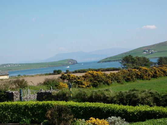 Brownes Bed & Breakfast Dingle: zoomed in view in the evening