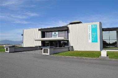 Main Entry to RNZAF Museum