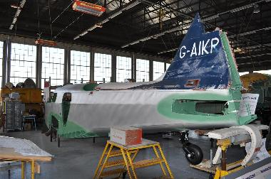 Aircraft in Restoration Hanger
