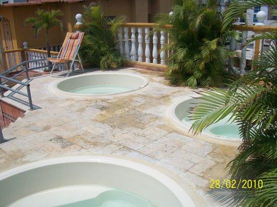 Hotel San Pietro: yacuzzis