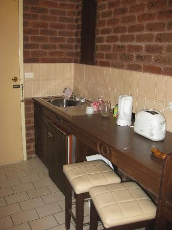 Albury Townhouse Motel : Kitchenette