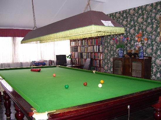 Greens of Leura: Pool table