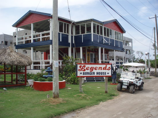 Legends Burger House Belize