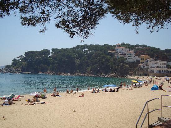 Hotel La Muntanya : The beach at Llafranc