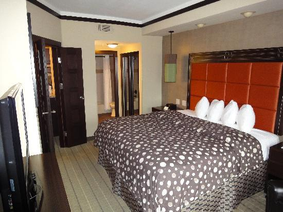 StayBridge Suites DFW Airport North: Schlafzimmer
