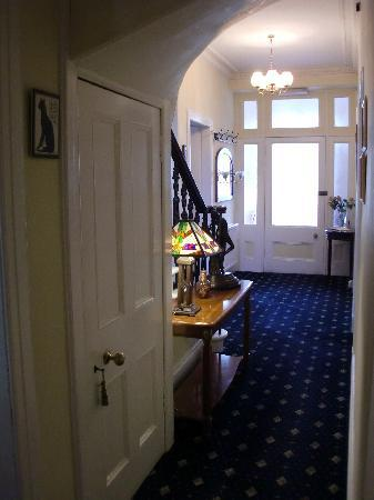 Queensberry House: Queensberry hallway
