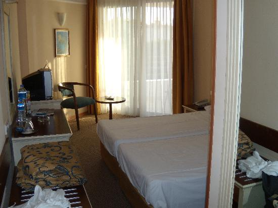 Palm Hotel : la chambre