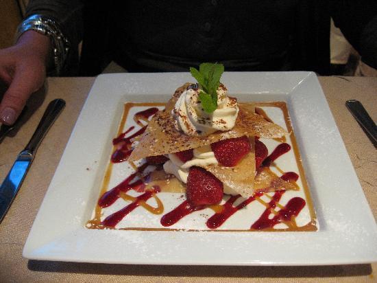 Les Airelles : un des desserts