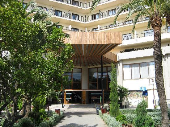 Hotel Intur Orange : entree de l'hotel