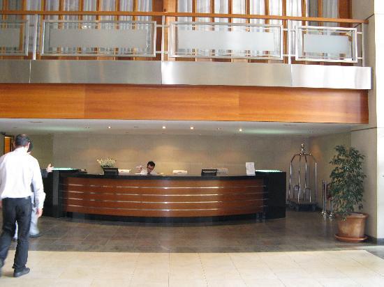 Hotel Intur Orange : reception