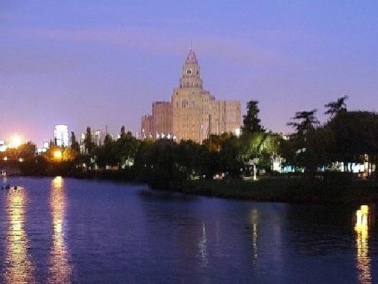 Suzhou Central park atNight