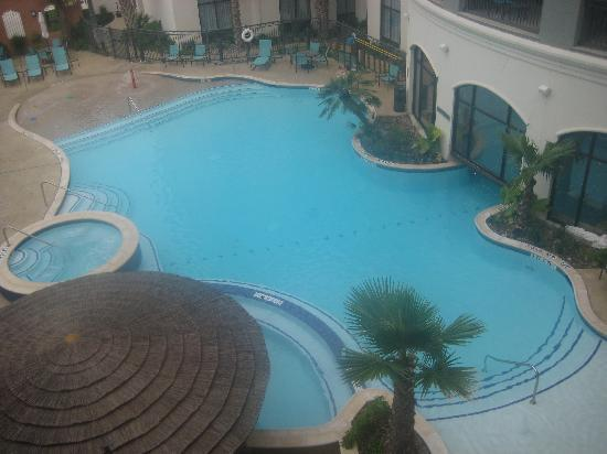 Courtyard San Antonio SeaWorldR/Westover Hills: Great pool