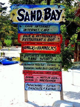 Izabal, Guatemala: Servicios SandBay