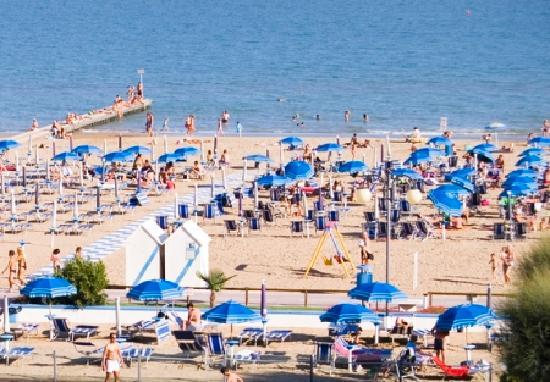 Hotel Rubino: Spiaggia