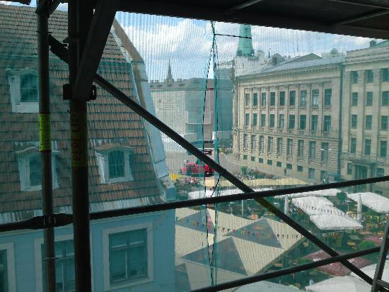 Dome Pearl Hostel : The view from the window