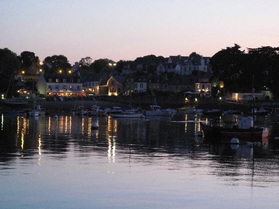Hafen von Sainte-Marine (Nachbarort von Benodet)
