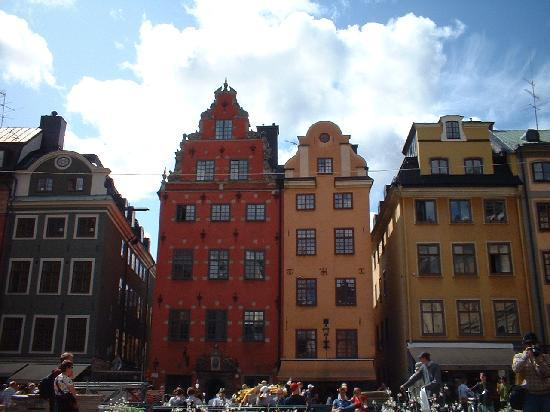 Stockholm, Sweden: Il pittoresco quartiere antico del centro.