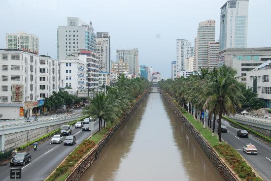 Kanal durch Hainan
