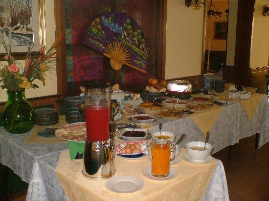 Hotel Ristorante Madonna della Neve: Buffet colazione