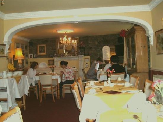 Lombard House Hotel : Cozy Breakfast Room