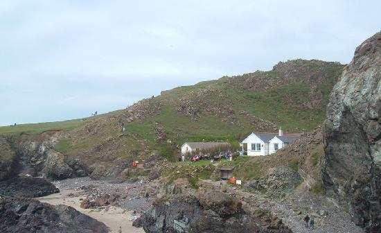Lombard House Hotel: NT Cafe in Kynance Cove
