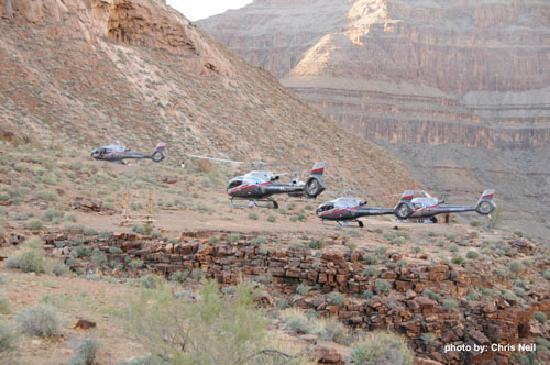 Maverick Grand Canyon Helicopter Tours  Picture Of Maverick Helicopters Las