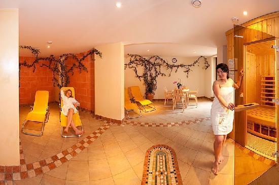 Alpina Hotel: Ruheraum Wellnes Sauna Hotel Alpina Rauris