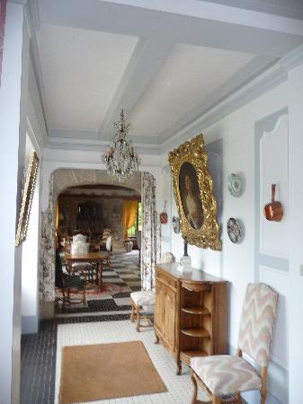 Manoir du Stang : pour passer de la salle à manger au salon et