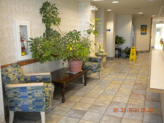 Motel 6 Avoca: lobby