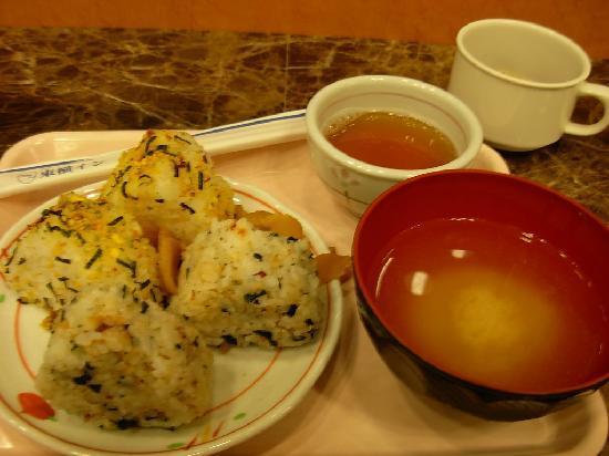 Toyoko Inn Ikebukuro Kita-guchi 2 : Basic but delicious japanese breakfast