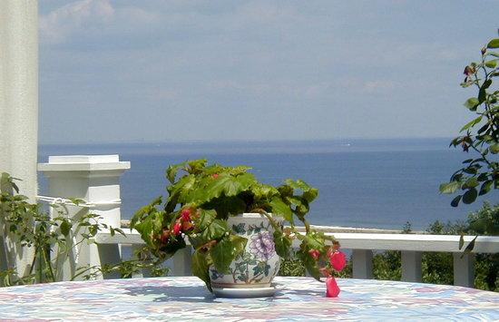 SeaScape Manor Bed & Breakfast : Ocean views, private decks and gourmet breakfasts overlooking the ocean.