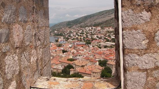 Senj, Croatia: View from the castle