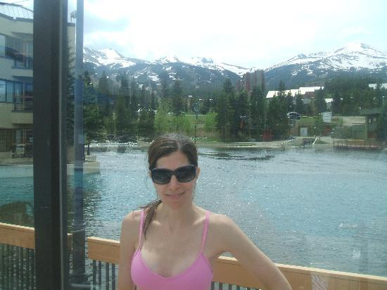 Marriott's Mountain Valley Lodge at Breckenridge: View from the pool
