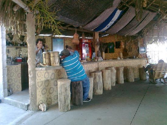 La Casa Del Jaguar: The bar