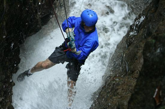 The Springs Resort and Spa: canyoning adventure