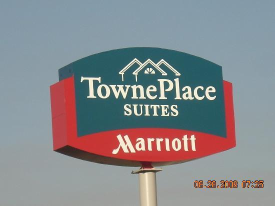 TownePlace Suites Pocatello: The Sign