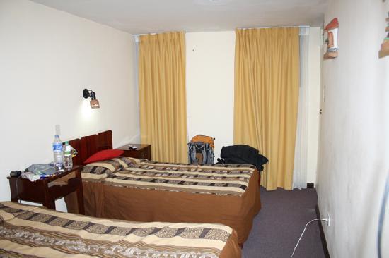 Tawantinsuyu Inn: The room
