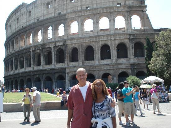 Casa Vacanze Chiro: Day 1 we went to Colosseum