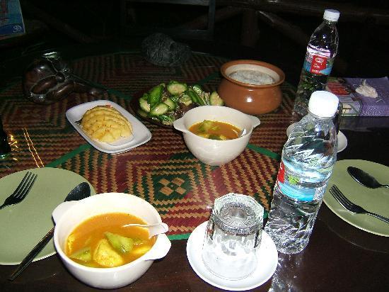 Baan Suan Thip Homestay: Lunch in Karabi restaurant