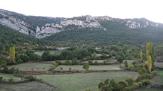 Hotel La Posada de Villalangua: la vista desde el hotel