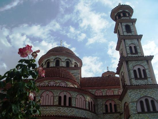 Korce, Albania: Orthodox Cathedral, center of town
