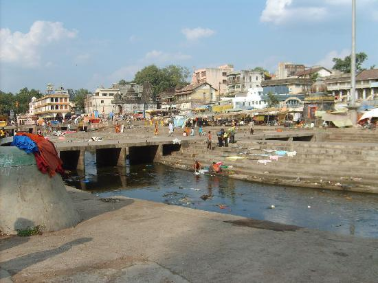 Nashik, India: Godavari River